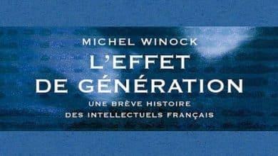 Photo of Michel Winock – L'effet de generation