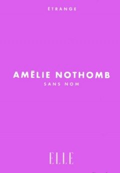 Amélie Nothomb - Sans nom