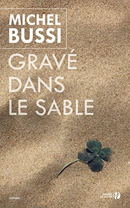 """Résultat de recherche d'images pour """"Gravé dans le sable - Michel Bussi"""""""
