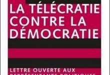 Photo de Bernard Stiegler – La télécratie contre la démocratie