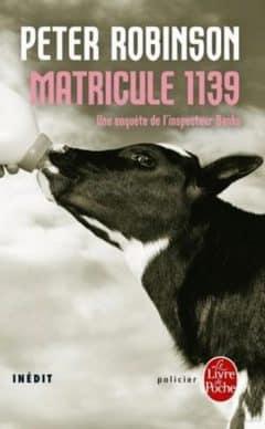 Peter Robinson - Matricule 1139