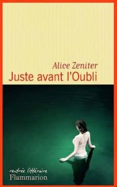Alice Zeniter - Juste avant l'oubli
