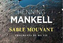 Photo de Henning Mankell – Sable mouvant