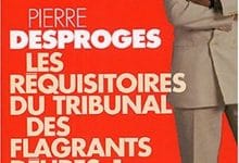 Photo de Pierre Desproges – Requisitoires du tribunal des flagrants delires