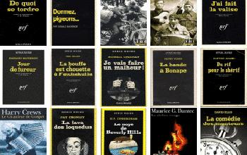 Serie Noire Gallimard