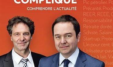 Photo de Gérald Fillion François Delorme – L'économie c'est pas compliqué