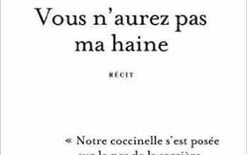 Antoine Leiris - Vous n'aurez pas ma haine