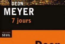 Deon Meyer - 7 jours
