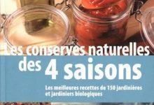 Les conserves naturelles des 4 saisons