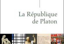 Photo de Alain Badiou – La République de Platon