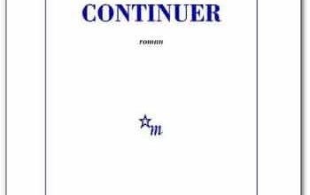 Laurent Mauvignier - Continuer