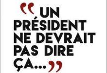 Photo de Gérard Davet & David Lhomme – Un président ne devrait pas dire ça