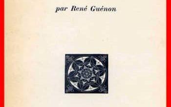 Photo of René Guénon – L'ésoterisme de Dante
