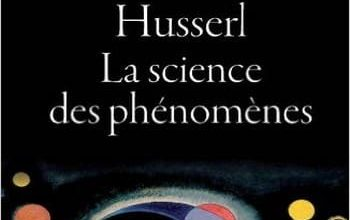 Photo de Husserl : La science des phénomènes