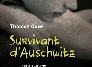 Photo de Thomas Geve – Survivant d'Auschwitz