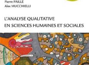 Photo de L'analyse qualitative en sciences humaines et sociales