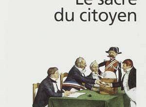 Photo de Pierre Rosanvallon – Le Sacre du citoyen