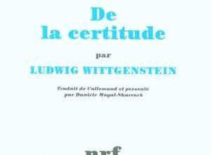 Photo of Ludwig Wittgenstein – De la certitude