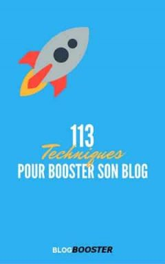 113 Techniques Pour Booster son Blog