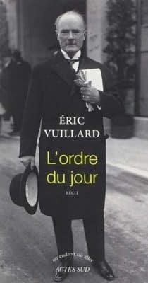 Éric Vuillard - L'ordre du jour