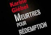 Photo de Karine Giebel – Meurtres pour rédemption