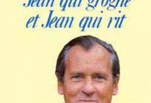 Photo de Jean d'Ormesson – Jean qui grogne et Jean qui rit