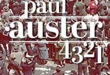 Photo de Paul Auster – 4 3 2 1 (2018)