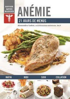 Anémie - 21 jours de menus