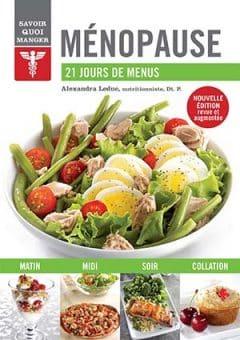 Ménopause - 21 jours de menus