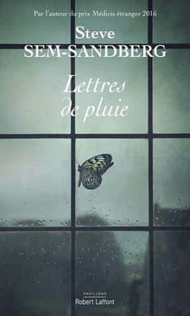 Lettres de pluie