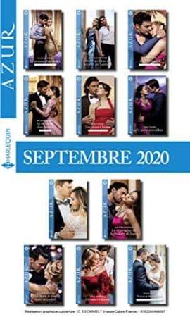 Pack mensuel Azur 11 romans + 1 gratuit (Septembre 2020)